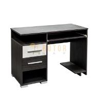 2 fiókos számítógépasztal